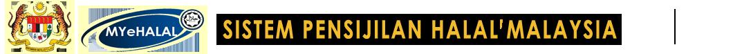 Sistem Pensijilan Halal Malaysia E Halal